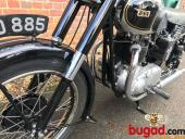 BSA A7 500cc For Sale - 1949 - Long Stroke - Plunger - Restored