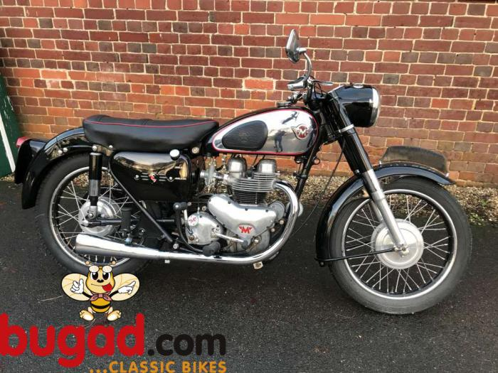 DUE IN - Matchless G9 Twin 500cc 1957