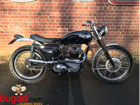Triumph 6T Thunderbird 650cc 1958 for Sale